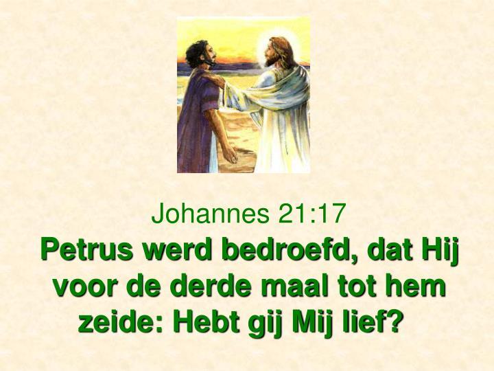 Johannes 21:17