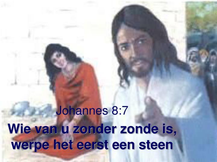 Johannes 8:7