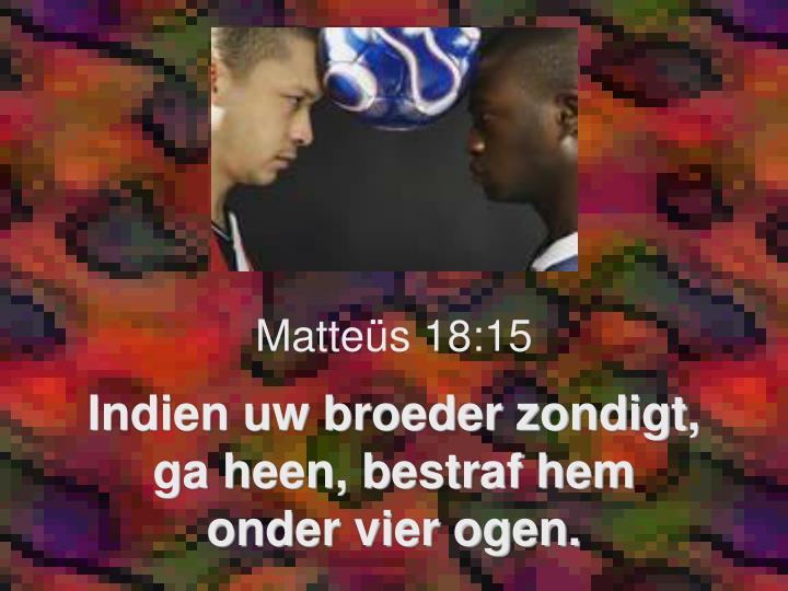 Matteüs 18:15