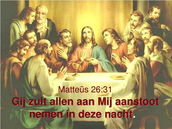 Matteüs 26:31