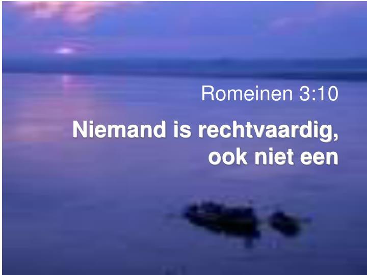 Romeinen 3:10