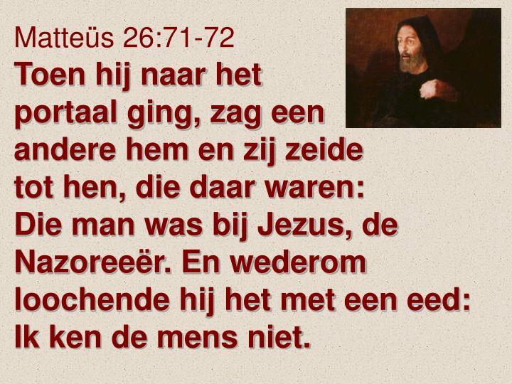 Matteüs 26: