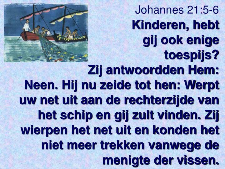 Johannes 21:5-6