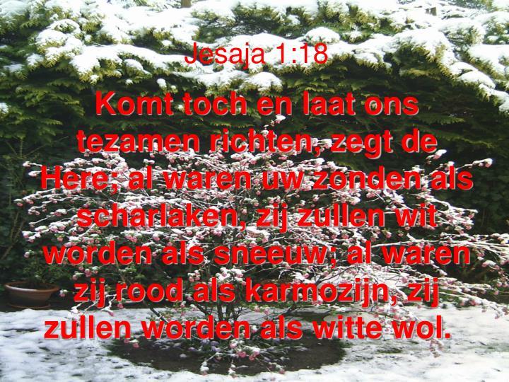Jesaja 1:18