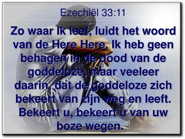 Ezechiël 33:11