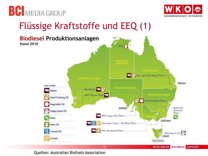 Flüssige Kraftstoffe und EEQ (1)