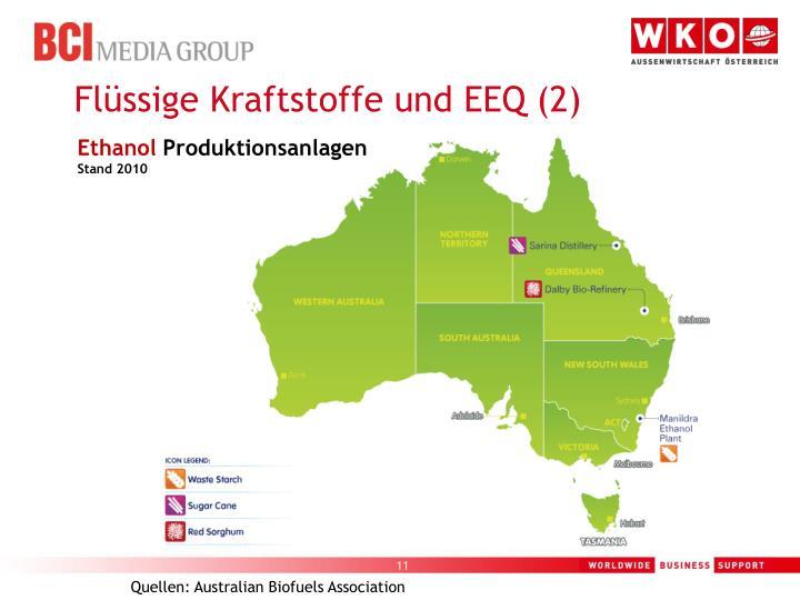 Flüssige Kraftstoffe und EEQ (2)