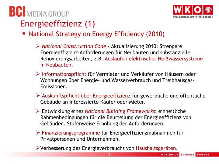 Energieeffizienz (1)
