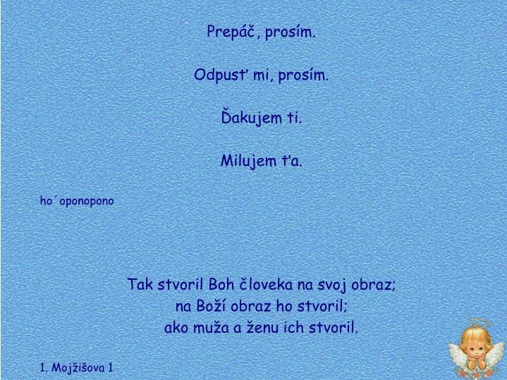 Prep, prosm.