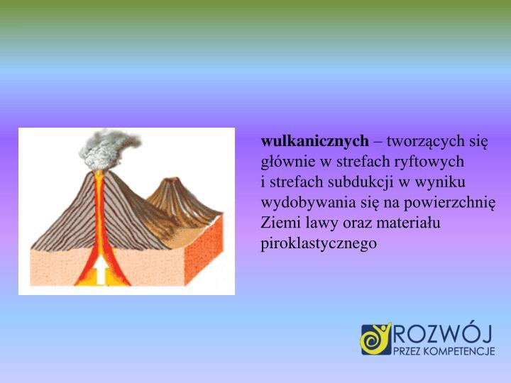 wulkanicznych