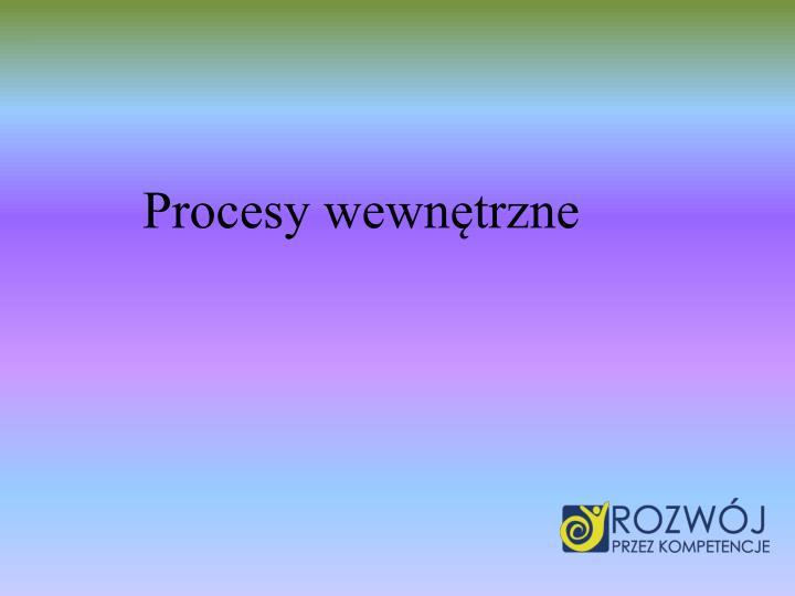Procesy wewntrzne