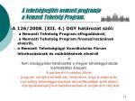 a tehets gseg t s nemzeti programja a nemzeti tehets g program