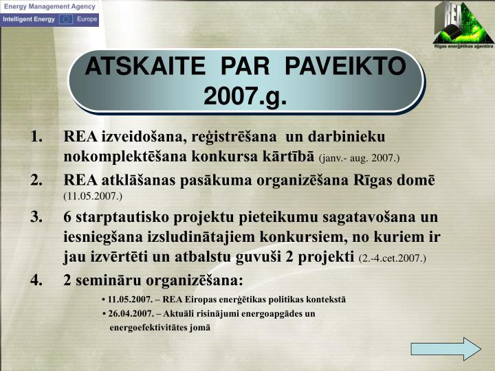 ATSKAITE  PAR  PAVEIKTO