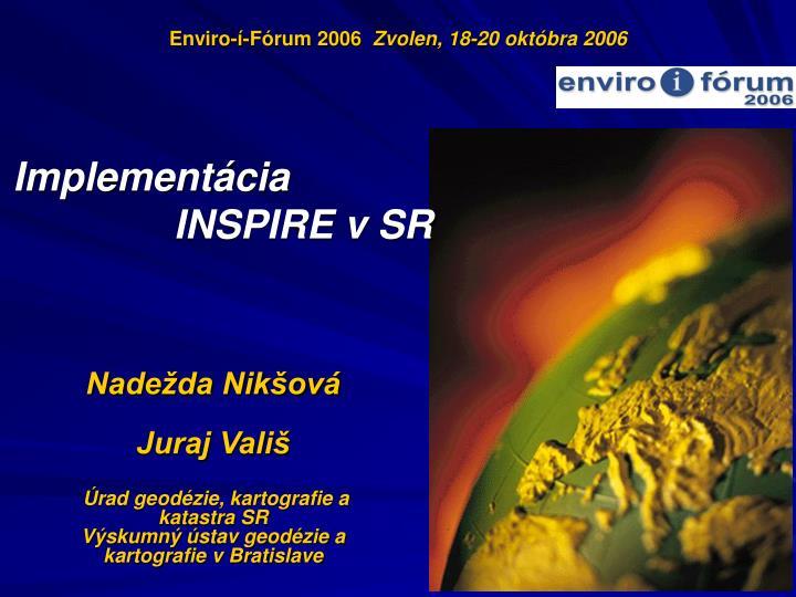 Enviro-í-Fórum 2006