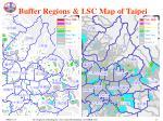 buffer regions lsc map of taipei