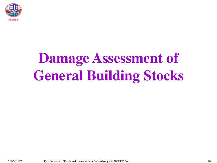 Damage Assessment of