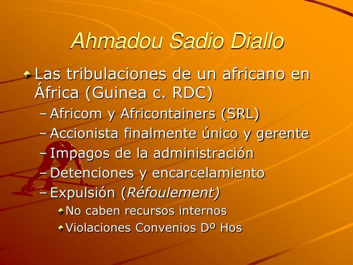 Ahmadou Sadio Diallo