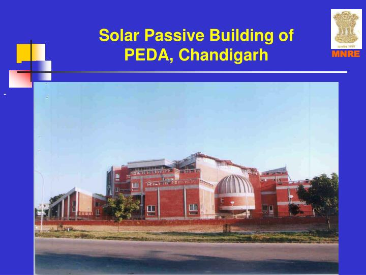 Solar passive building of peda chandigarh