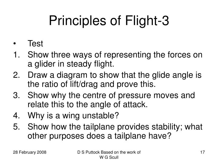 Principles of Flight-3