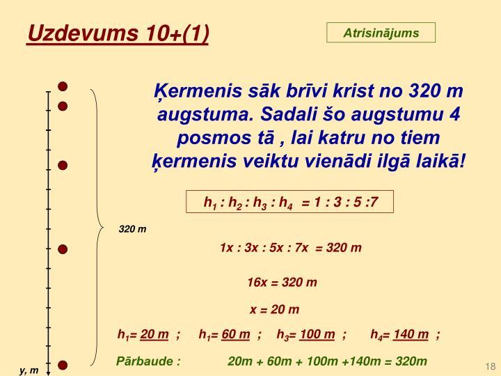 Uzdevums 10+(1)