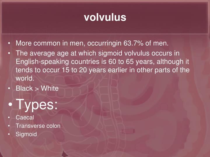 volvulus