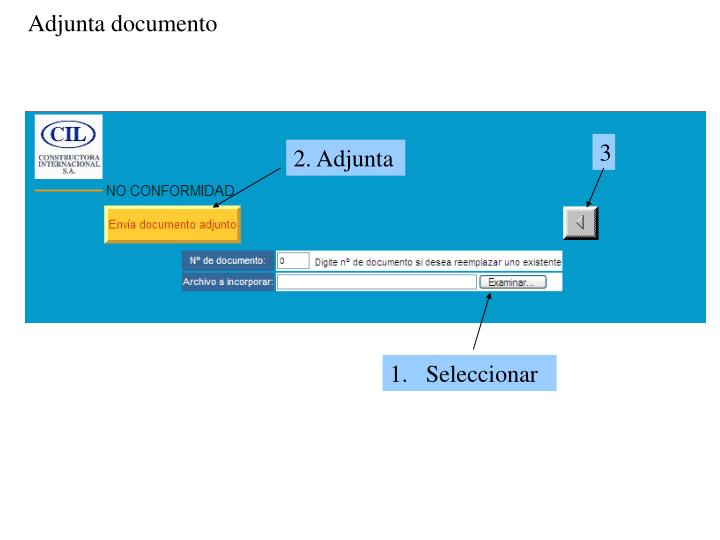 Adjunta documento