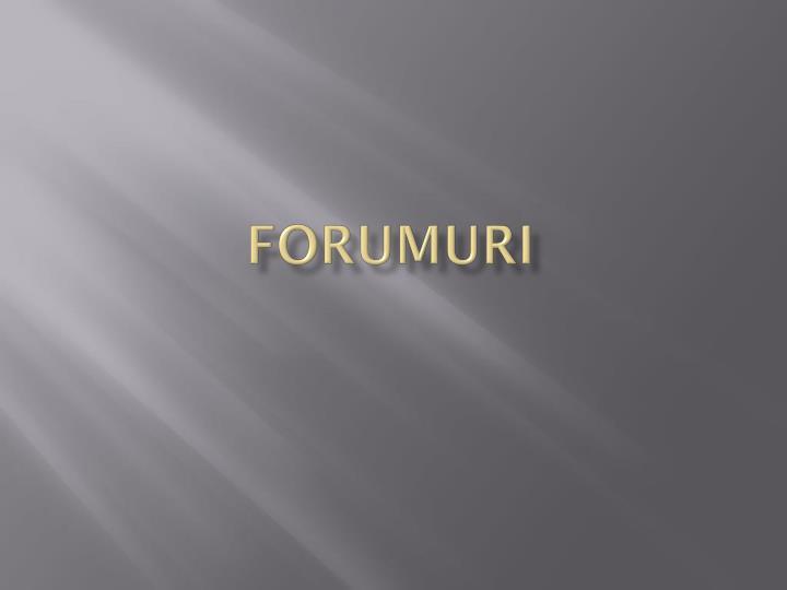 Forumuri