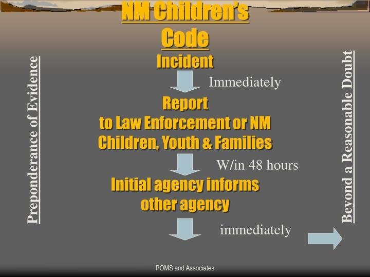 NM Children's Code