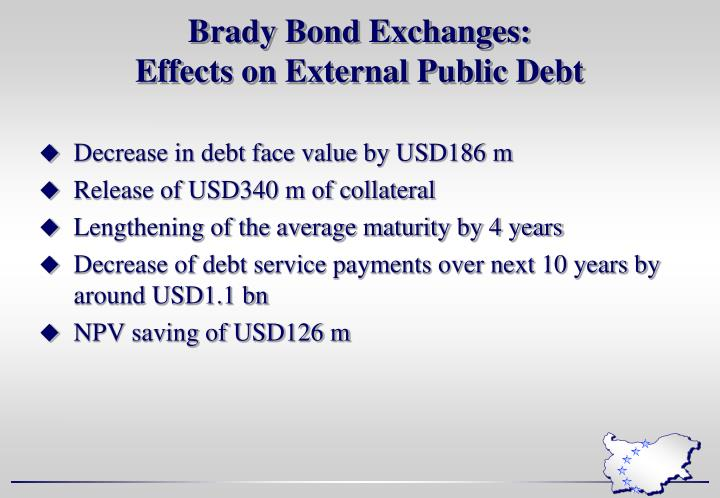 Brady Bond Exchanges: