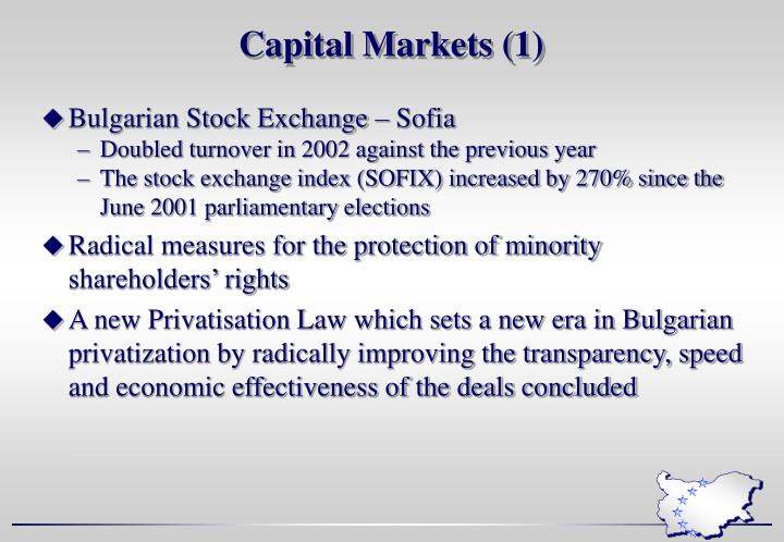 Capital Markets (1)