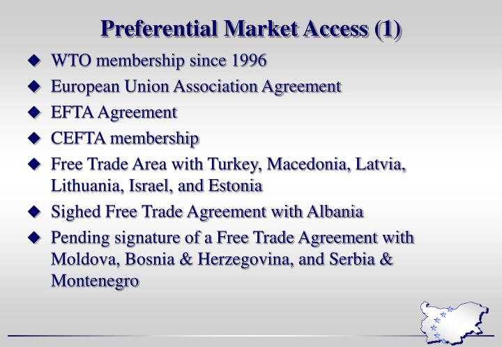 Preferential Market Access (1)