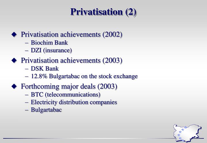 Privatisation (2)