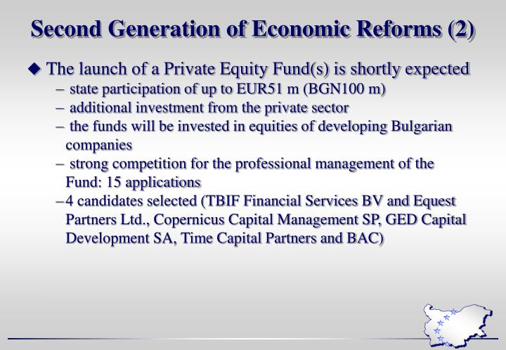 Second Generation of Economic Reforms (2)
