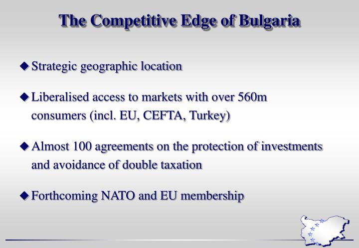 The competitive edge of bulgaria