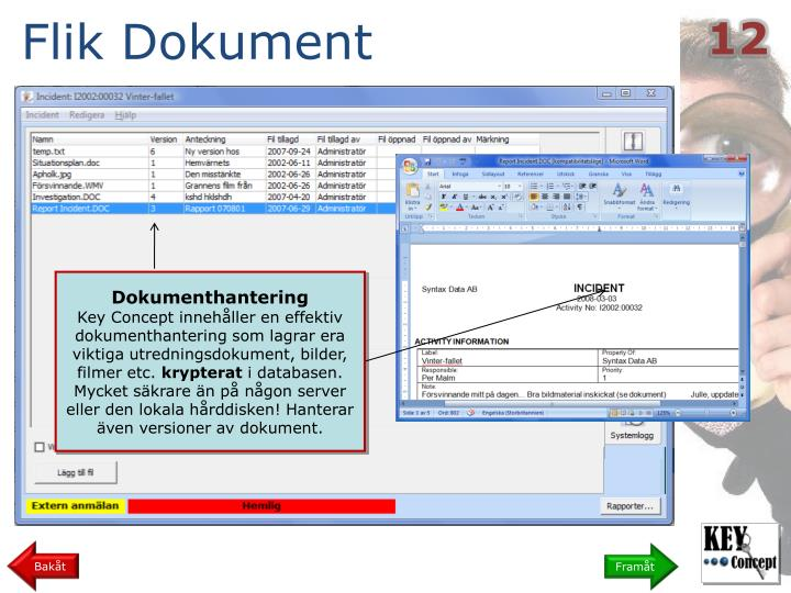 Flik Dokument