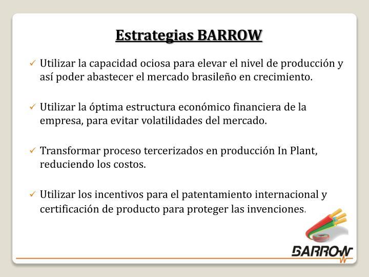 Estrategias BARROW