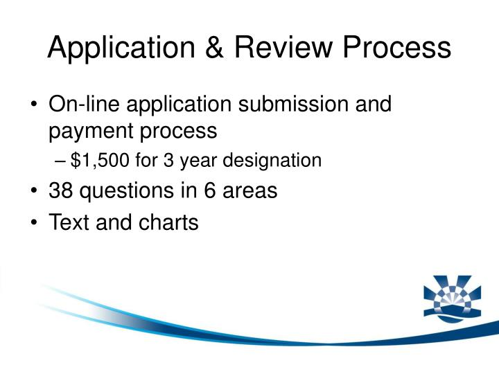 Application & Review Process