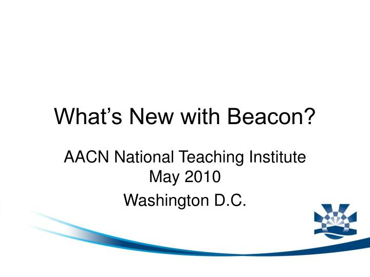 What s new with beacon