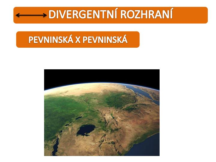 DIVERGENTNÍ ROZHRANÍ