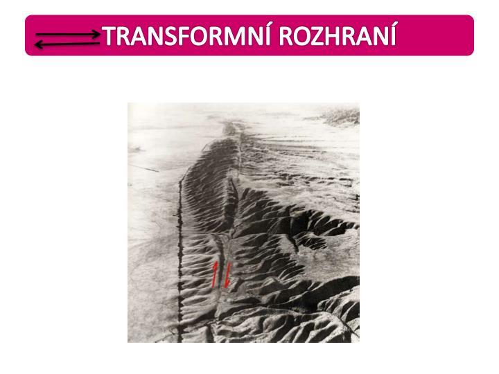TRANSFORMNÍ ROZHRANÍ