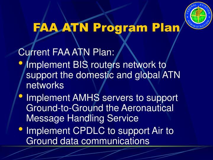 FAA ATN Program Plan