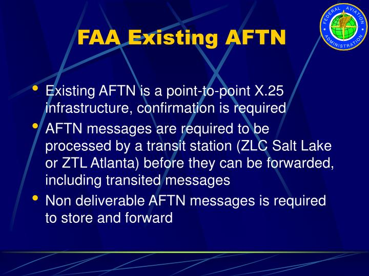 FAA Existing AFTN