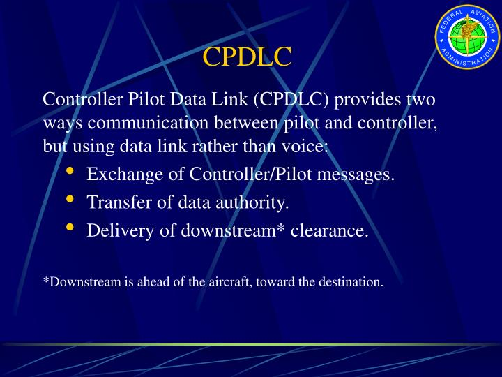 CPDLC