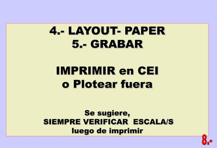 4.- LAYOUT- PAPER