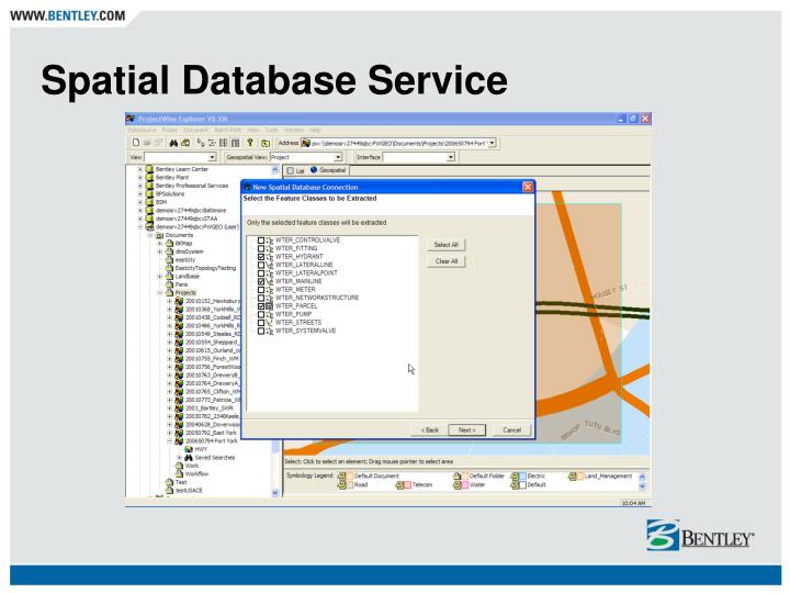 Spatial Database Service