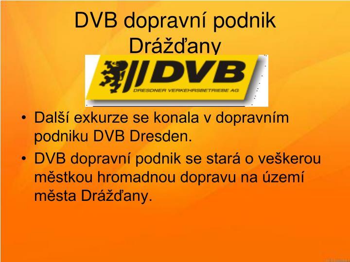 DVB dopravní podnik