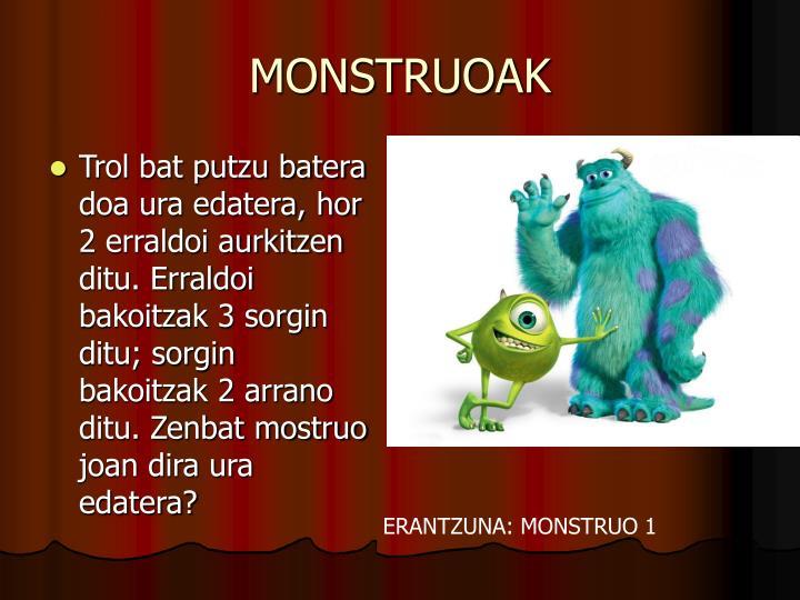 MONSTRUOAK
