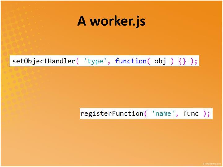A worker.js