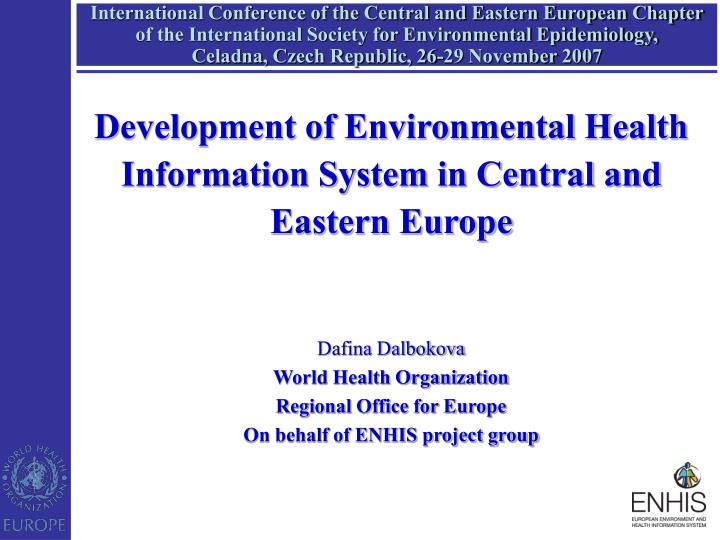 central and eastern europe environmental issues Environment and health in central and eastern europe (english) abstract the purpose of this report is to evaluate the influence of environmental pollution on human health in comparison with other determinants of health in central and eastern europe to summarize current knowledge about locations in central and eastern europe.