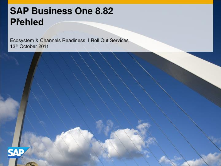 Sap business one 8 82 p ehled
